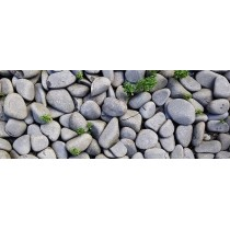 Decorative pebbles, stones and barks